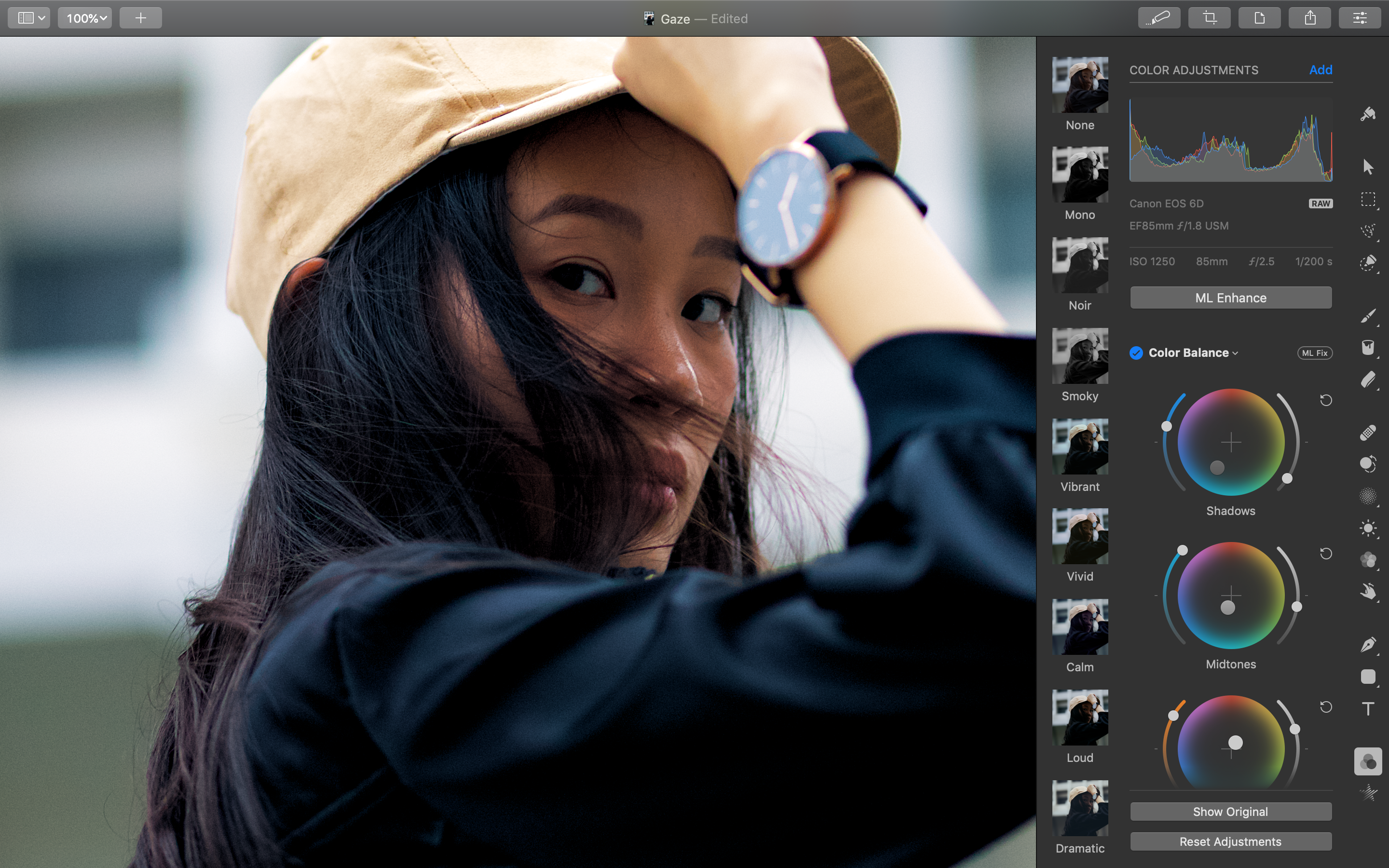 Pixelmator Pro update adds professional color grading tool Image